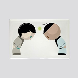 Bowing Opponents Magnets