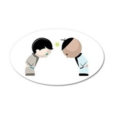 Bowing Opponents Wall Decal