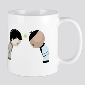 Bowing Opponents Mugs