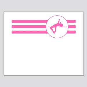 High Jump Stripes (Pink) Posters