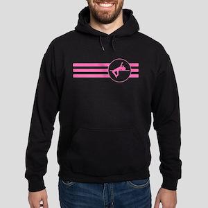 High Jump Stripes (Pink) Hoodie