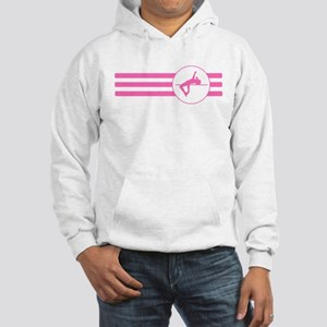 High Jump Stripes (Pink) Hoodie