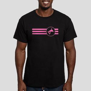 High Jump Stripes (Pink) T-Shirt