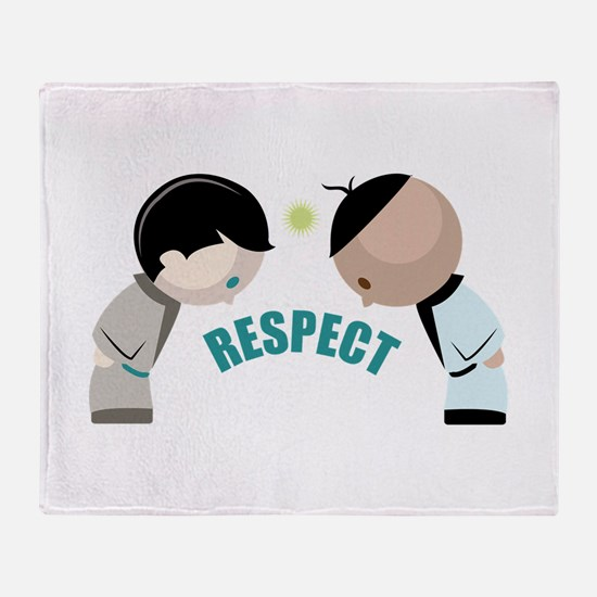 Respect Throw Blanket