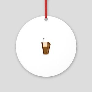 Speaking Podium Ornament (Round)