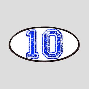 10-Col blue Patch