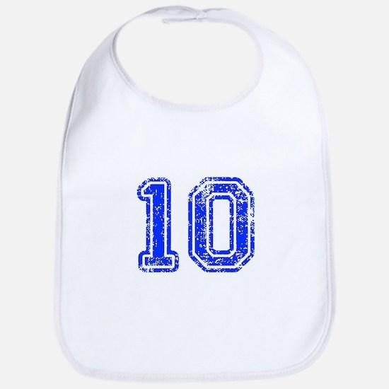 10-Col blue Bib