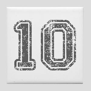 10-Col gray Tile Coaster