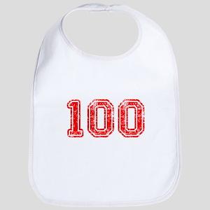 100-Col red Bib
