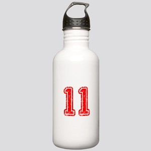 11-Col red Water Bottle