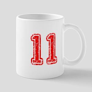 11-Col red Mugs