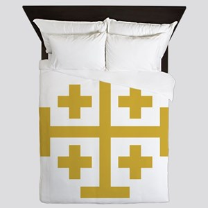 Crusaders Cross Queen Duvet