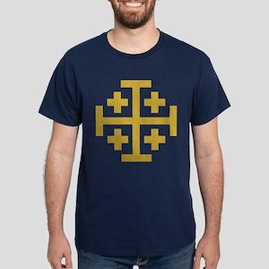 Crusaders Cross Dark T-Shirt