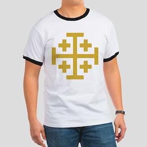 Crusaders Cross Ringer T