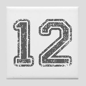 12-Col gray Tile Coaster