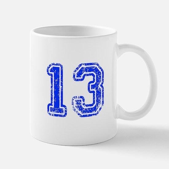13-Col blue Mugs
