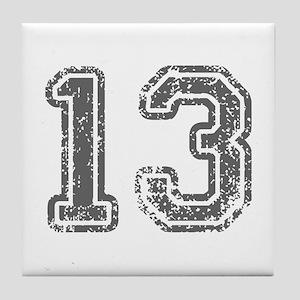13-Col gray Tile Coaster