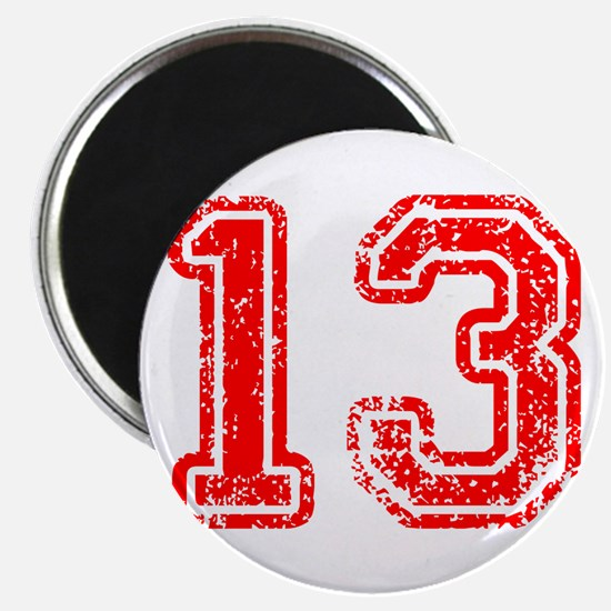 13-Col red Magnets