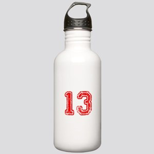 13-Col red Water Bottle