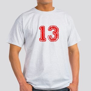 13-Col red T-Shirt