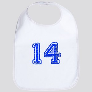 14-Col blue Bib