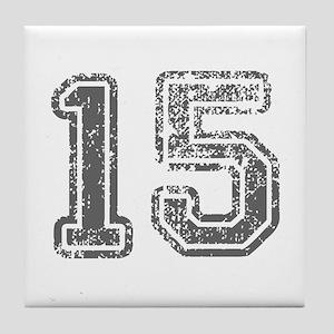 15-Col gray Tile Coaster