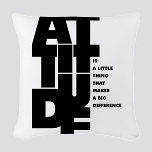 Winston churchill Inspirationa Woven Throw Pillow