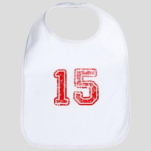 15-Col red Bib