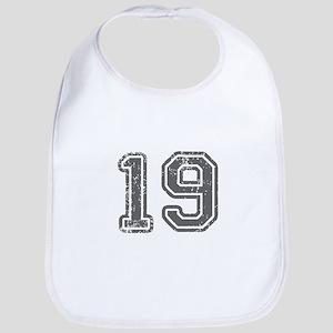 19-Col gray Bib