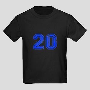 20-Col blue T-Shirt