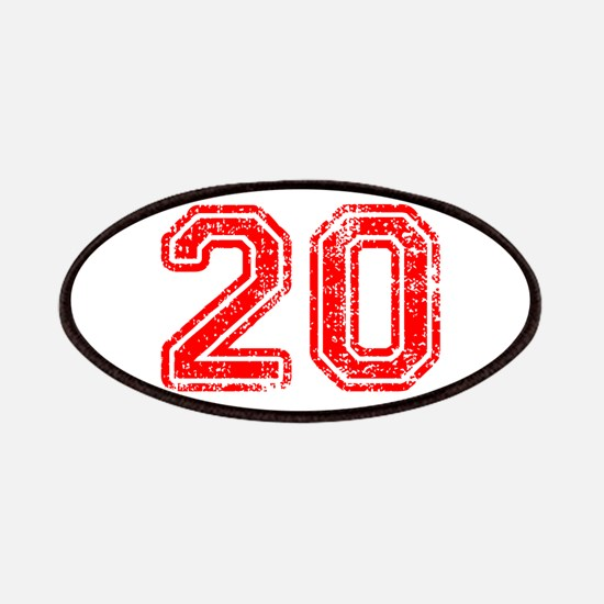 20-Col red Patch