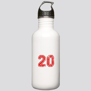 20-Col red Water Bottle