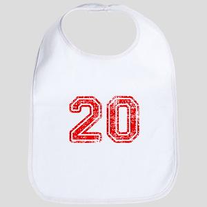 20-Col red Bib