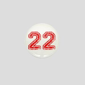 22-Col red Mini Button