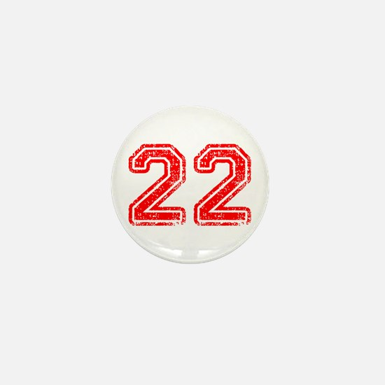 22-Col red Mini Button