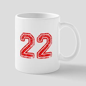 22-Col red Mugs