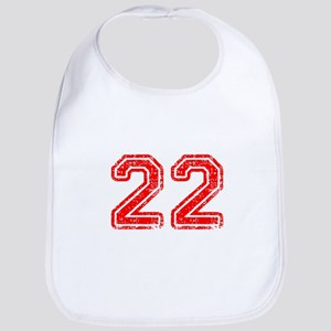 22-Col red Bib