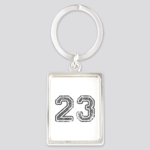 23-Col gray Keychains