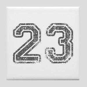 23-Col gray Tile Coaster