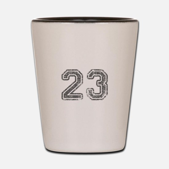 23-Col gray Shot Glass