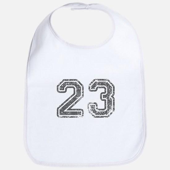 23-Col gray Bib