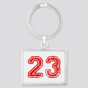 23-Col red Keychains