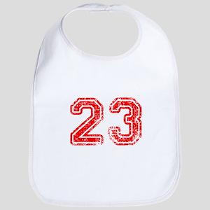 23-Col red Bib