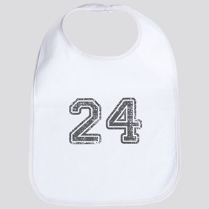 24-Col gray Bib