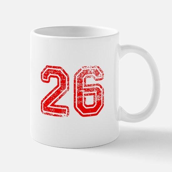 26-Col red Mugs