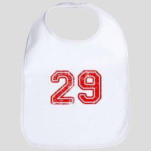 29-Col red Bib