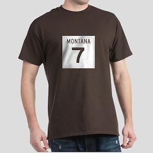 Highway 7, Montana Dark T-Shirt