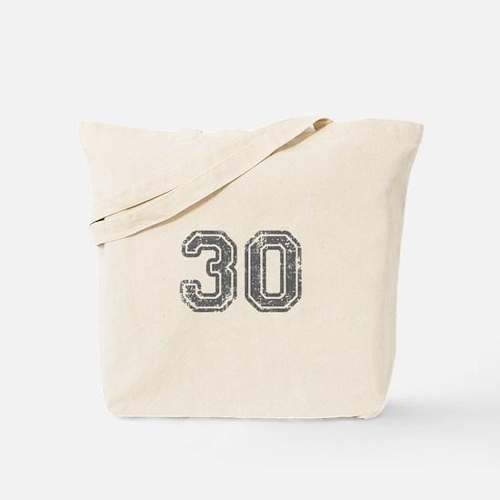 30-Col gray Tote Bag
