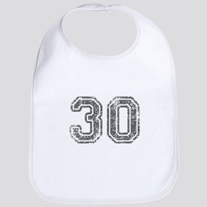 30-Col gray Bib