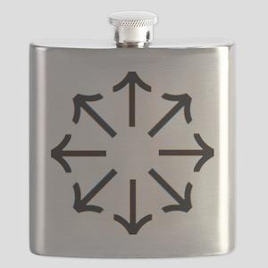 Tyr Rune Wheel Flask